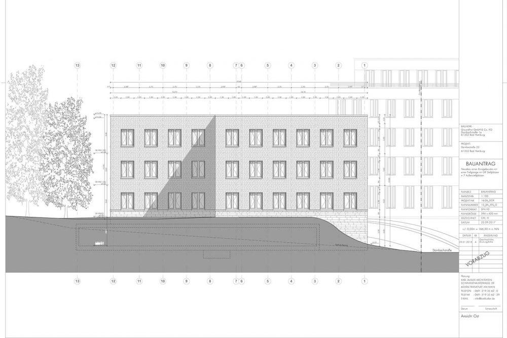 Büro Neubau Bad Homburg Generalunternehmer